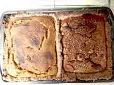 2-Well Yam Pie in rectangular pan y